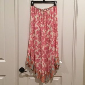 Cropped flowy pants!